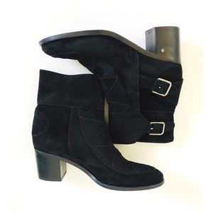 Laurence Dacade Black Ankle Boots Size 38.5 US 8.5